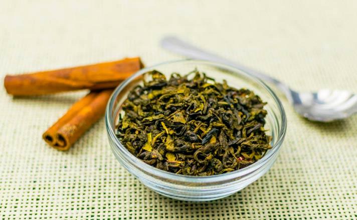 Preparar té verde casero
