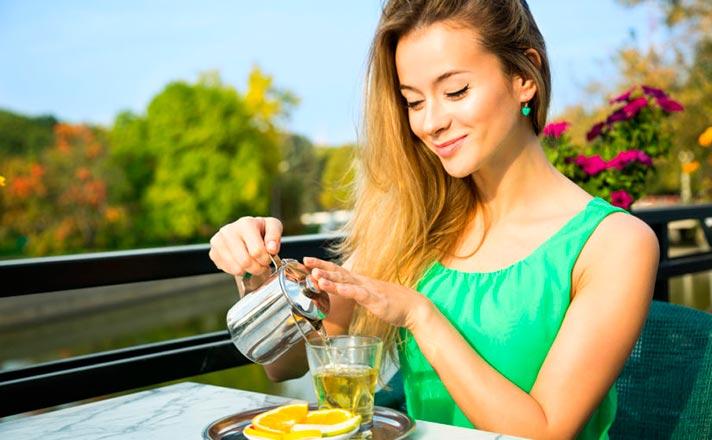 Cantidad diaria recomendada de té