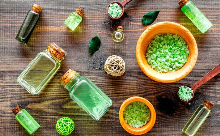 Beber té verde para la piel