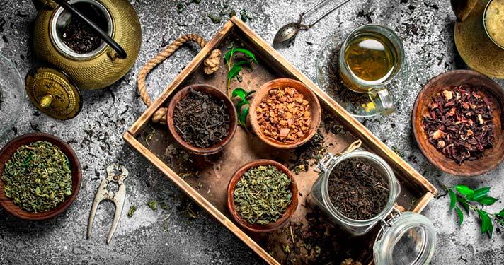 Propiedades del té verde y el té oolong