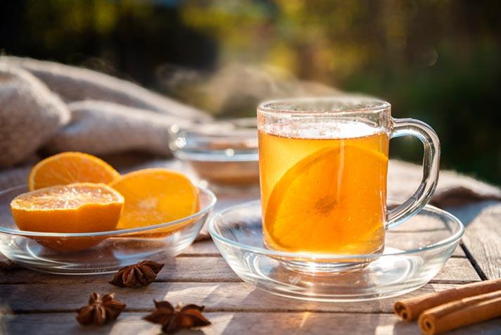 Qué beneficios tiene el té de naranja