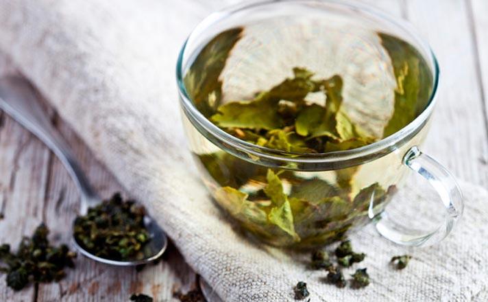 Recetas con té verde