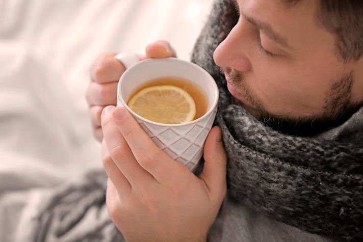 Beneficios de la infusión de tomillo contra la tos