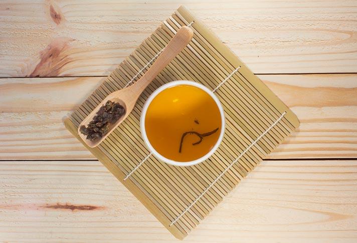 Propiedades digestivas del té oolong