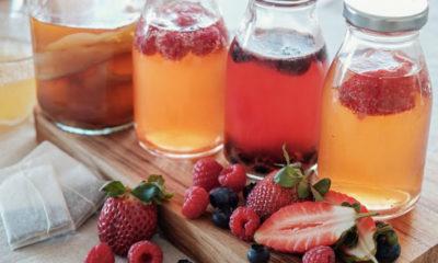 Pros y contras de beber té de kombucha