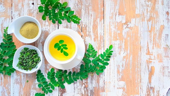 Beneficios del té de moringa