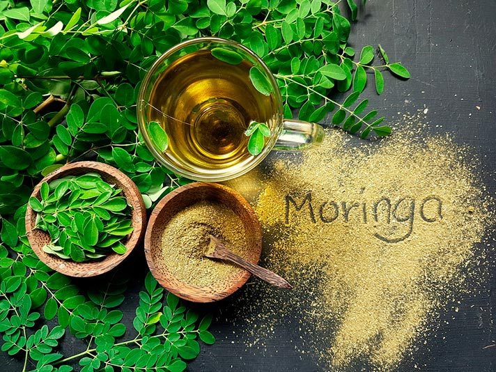 Para qué sirve el té de moringa