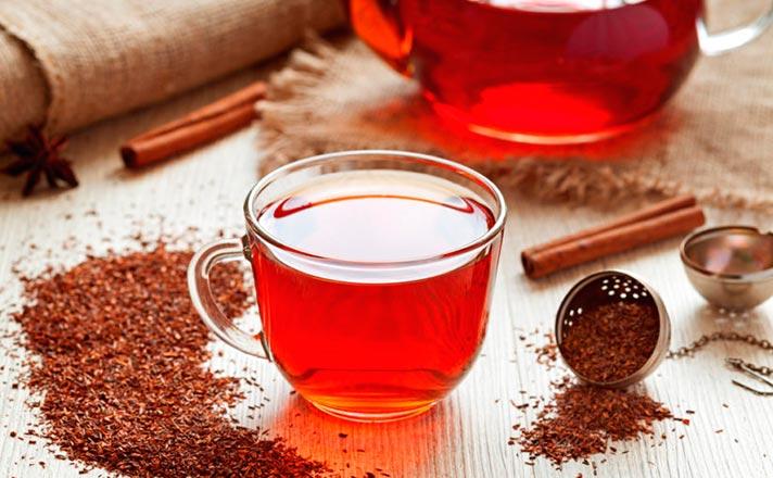 Efectos adversos del té rooibos